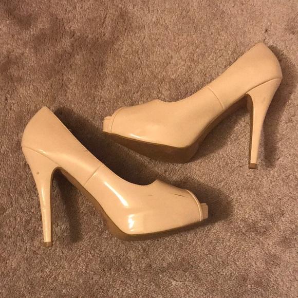 Nude 4 Inch Heels